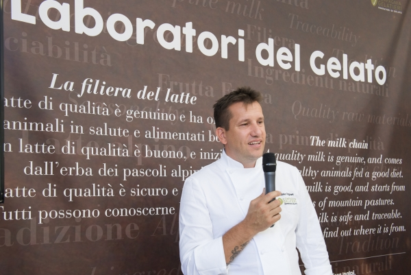 I laboratori del Gelato a CHEESE 2017